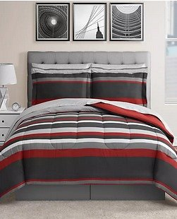 Fairfield Square Collection Austin Reversible Bedding Sets
