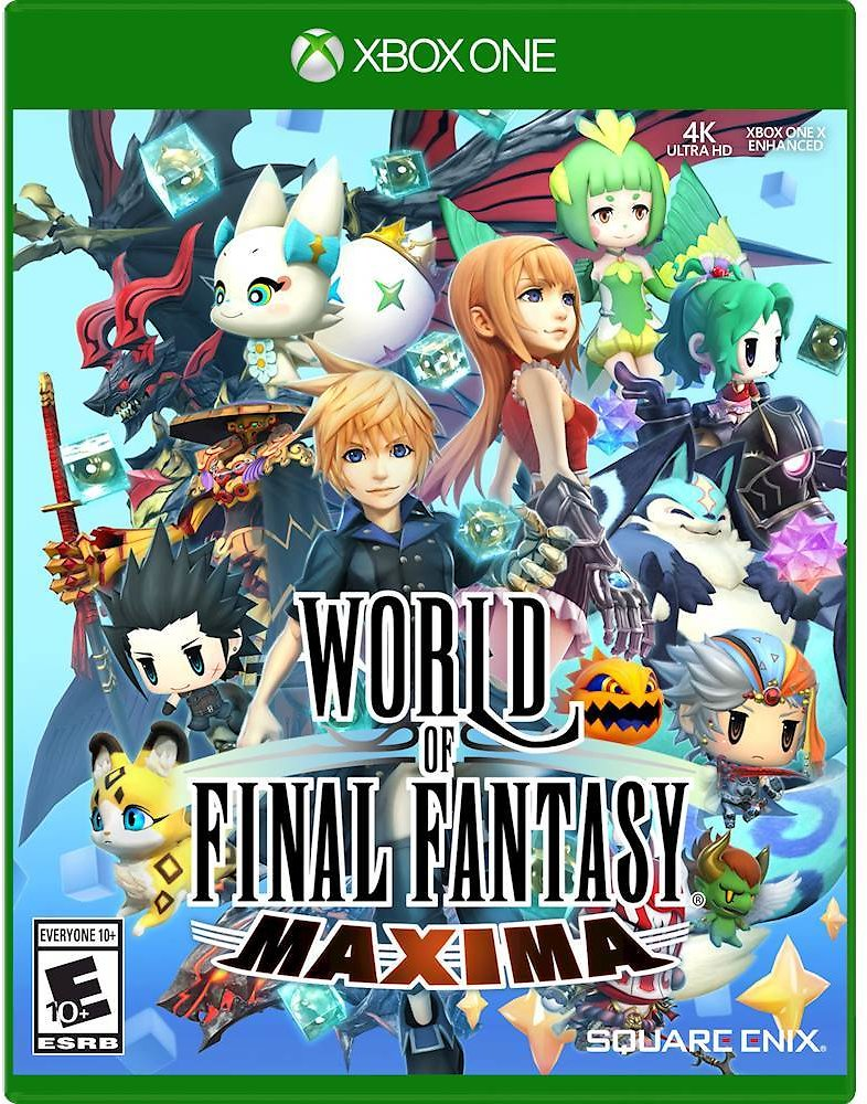 Today Only: $9.99 World of Final Fantasy Maxima Xbox One 92195