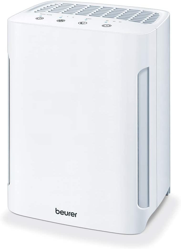 Beurer Air Purifier 3-in-1 H13 HEPA Layer Filter System, White