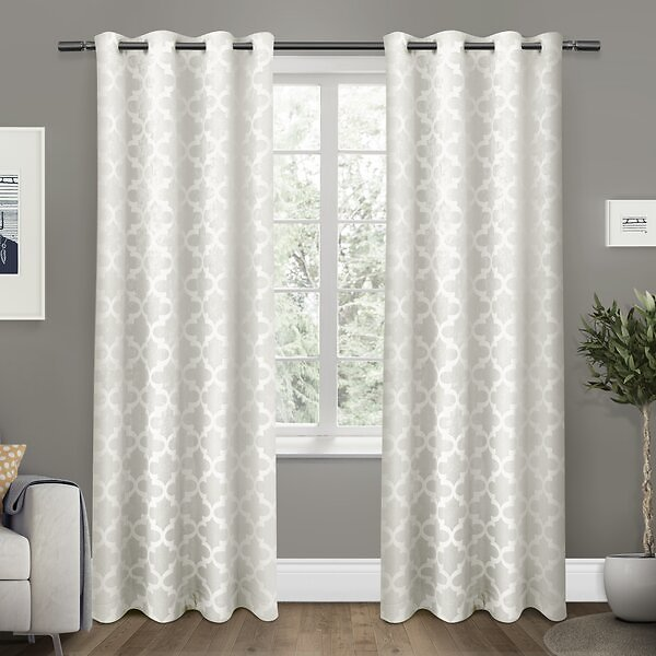 Bedelia Cartago Insulated Solid Color Blackout Thermal Grommet Curtain Panels