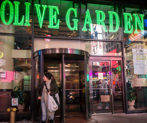 Olive Garden Parent Plans to Reopen More Than 65% of Dining Rooms By End of May