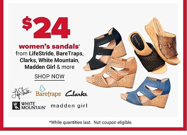 Today Only! $24 Select Women's Sandals