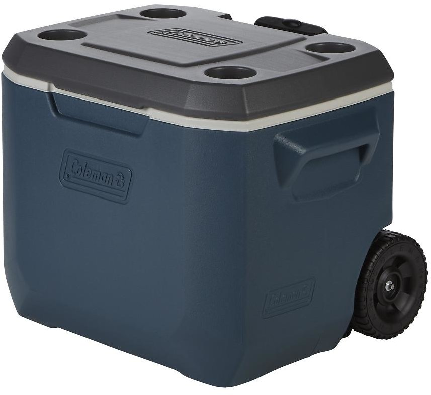 Coleman 50 Quart Xtreme 5 Day Heavy Duty Cooler, Wheels, 84 Can, 7 Colors