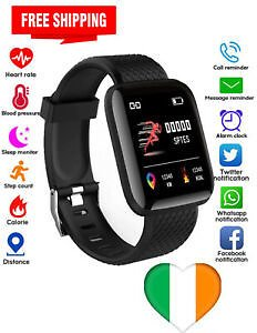 Free Shipping/Smart Watch Heart Rate Monitor Fit Activity Tracker IPhone Android Touch Screen