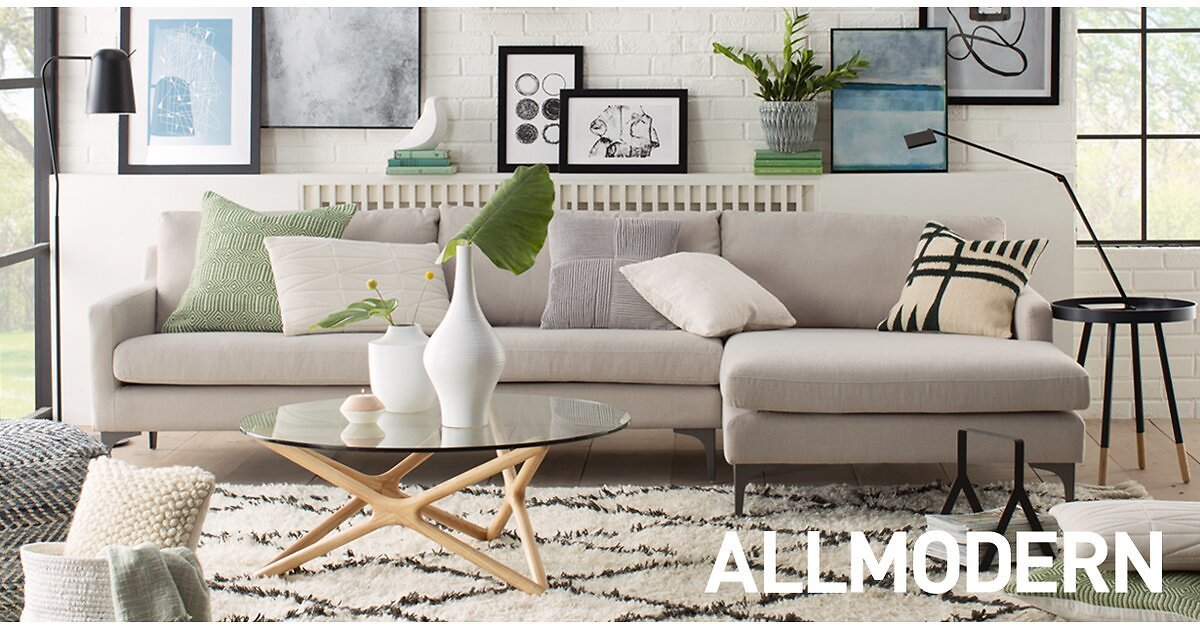 AllModern Memorial Day Clearance Sale Up to 65% Off + Extra 15% Off
