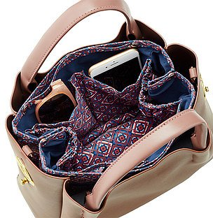 The Container Store- In.bag Blue Tile Purse Organizer