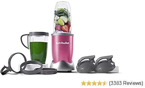 NutriBullet NB9-1301PINK Pro 13 Pcs Berry Pink, 900W