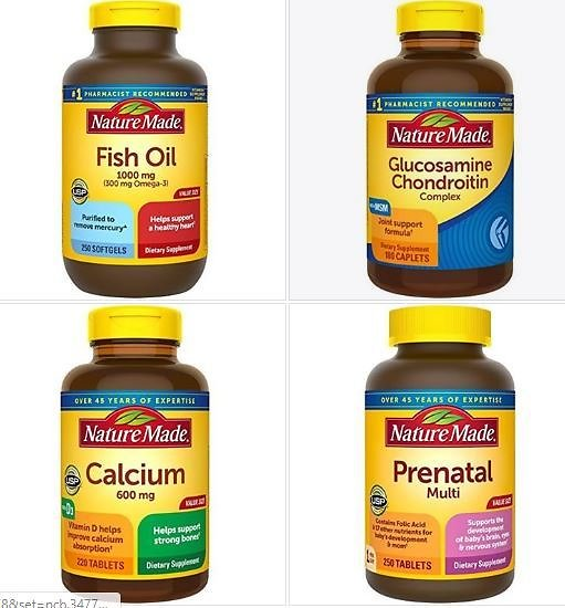 Coupon: Subscribe & Save On Nature Made Vitamins