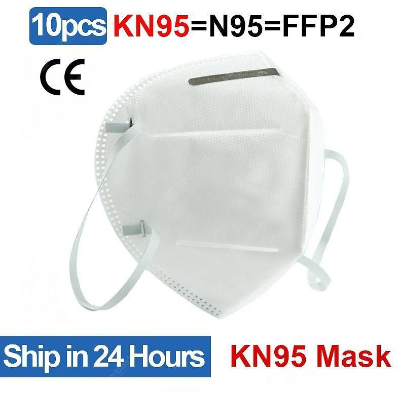 10PCS US KN95 Face Mask Disposable Breathable Protective Masks Non-Medical Mask for Health Sale, Price & Reviews | Gearbest