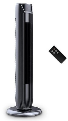PELONIS 36'' 3-Speed Oscillating Pedestal Tower Fan with Remote