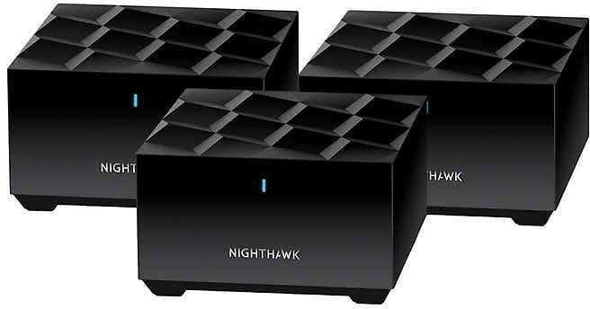 NETGEAR Nighthawk Whole Home Mesh WiFi 6 System, 3-pack