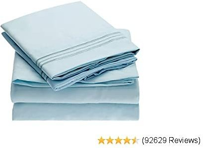 #Mellanni #Bed #Sheet #Set - #Brushed #Microfiber 1800 #Bedding - #Wrinkle, #Fade, #Stain #Resistant