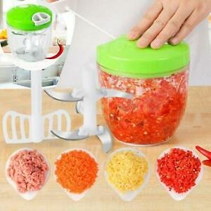 FREE SHIPPING /Manual Pull Rope Food Vegetable Chopper Hand Held Pulling Slicer Kitchen HOME