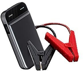 70mai 600A 11100mAh Portable Jump Starter Power Bank, 12V Emergency Car Booster (up to 4.0L Gas, 2.0L Diesel Engine), Fast Charge, USB Output, Type-C Port, Built-in Flashlight (2020)