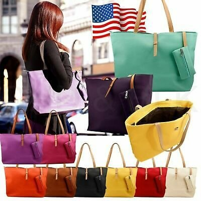 5% OFF/FREE SHIPPING/Only For 7.42$/Faux Bag Womens Messenger Leather Lady New Handbag Shoulder Totes Purse Fashion