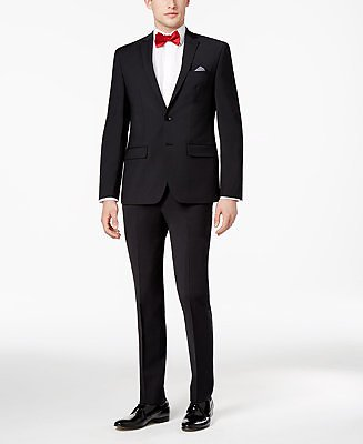 Bar III Men's Skinny Fit Stretch Wrinkle-Resistant Suit Separates, Created for Macy's & Reviews - Suits & Tuxedos - Men