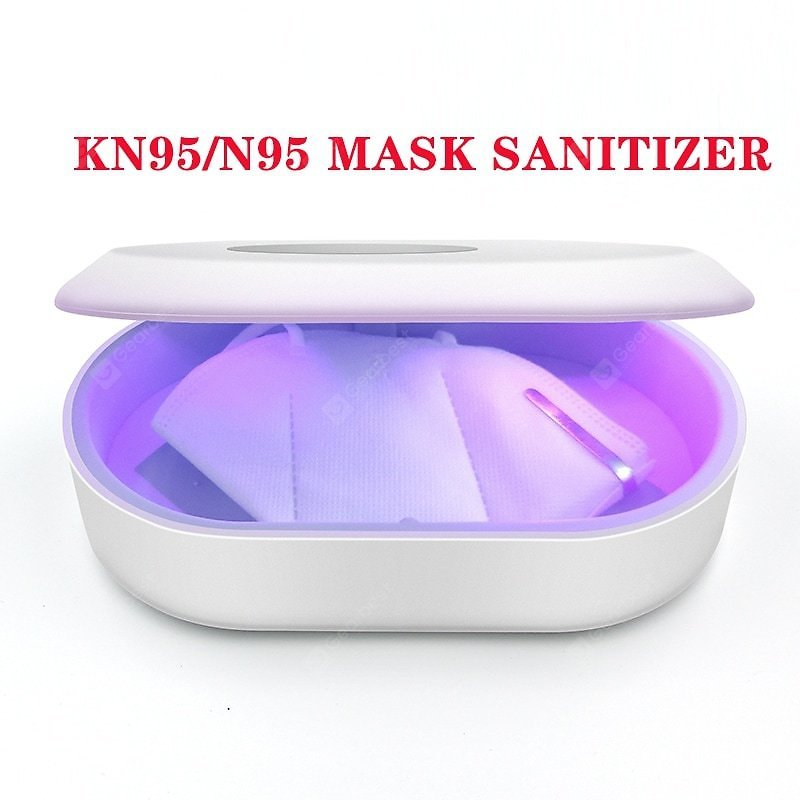 Multi-function UV Light Sterilizer for KN95 N95 FFP2 Disposable Surgical Mask with Wireless Charger Sale, Price & Reviews   Gearbest