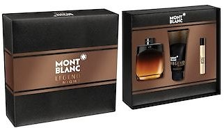 Mont Blanc Legend Night By Mont Blanc Men's Cologne Gift Set