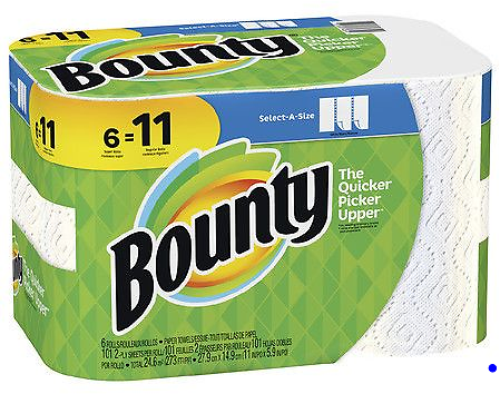 30 Pack Bounty Select-A-Size, 6 Super Rolls