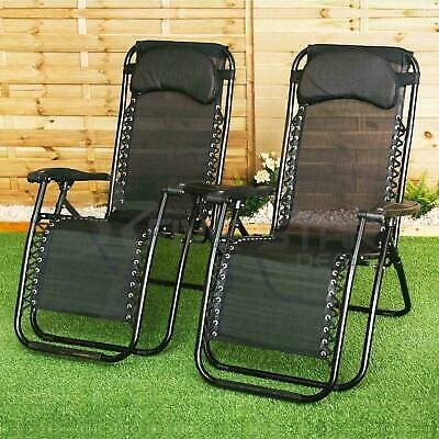 2-Ct Reclining Patio chair