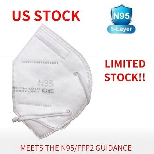 56% OFF 10PCS N95 5-Layer Face Mask N95 5-Layer Face Mask United States
