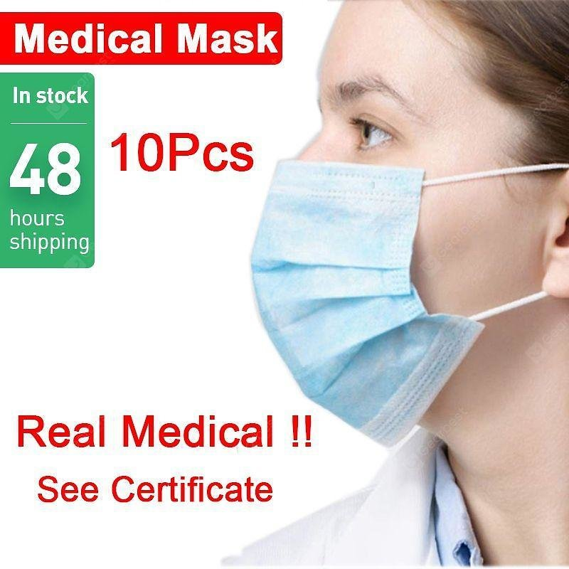 Disposable Medical Mask 3-Ply
