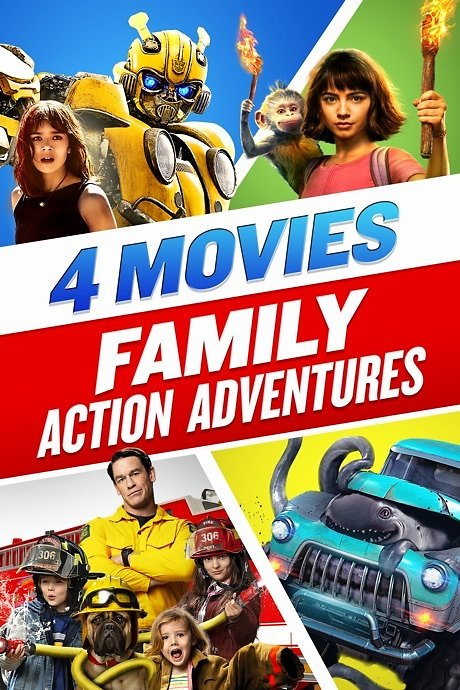 4-Movie Family Action Adventures Bundle