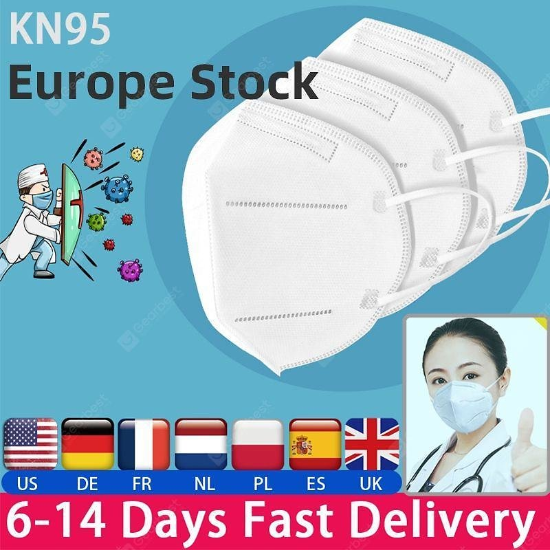10pcs KN95 N95 Non-medical Mask Dustproof Anti-fog And Breathable FaceMask Filtration Features As KF94 FFP2 Sale, Price & Reviews | Gearbest