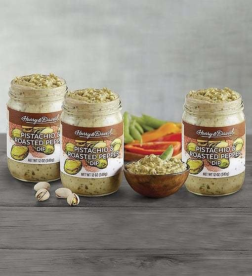 Pistachio and Roasted Pepper Dip 3-Pack