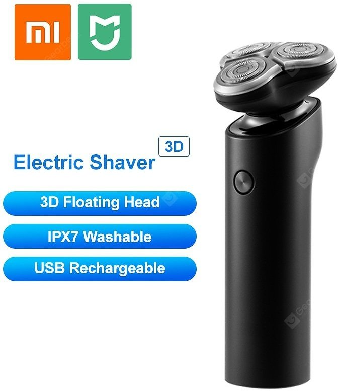 Xiaomi MIJIA S500 LED Display Washable Electric Shaver Men Razor Sale, Price & Reviews | Gearbest