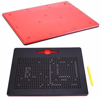 Magnetic Ball Sketch Pad Tablet Drawing Pen Board Magnetic Stylus Painting Creation Kids Portable Drawing Board Puzzle Game Learning ToysOffice & School SuppliesfromComputers & Officeon Banggood.com