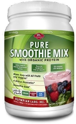 Olympian Labs Pure Smoothie Mix With Organic Protein
