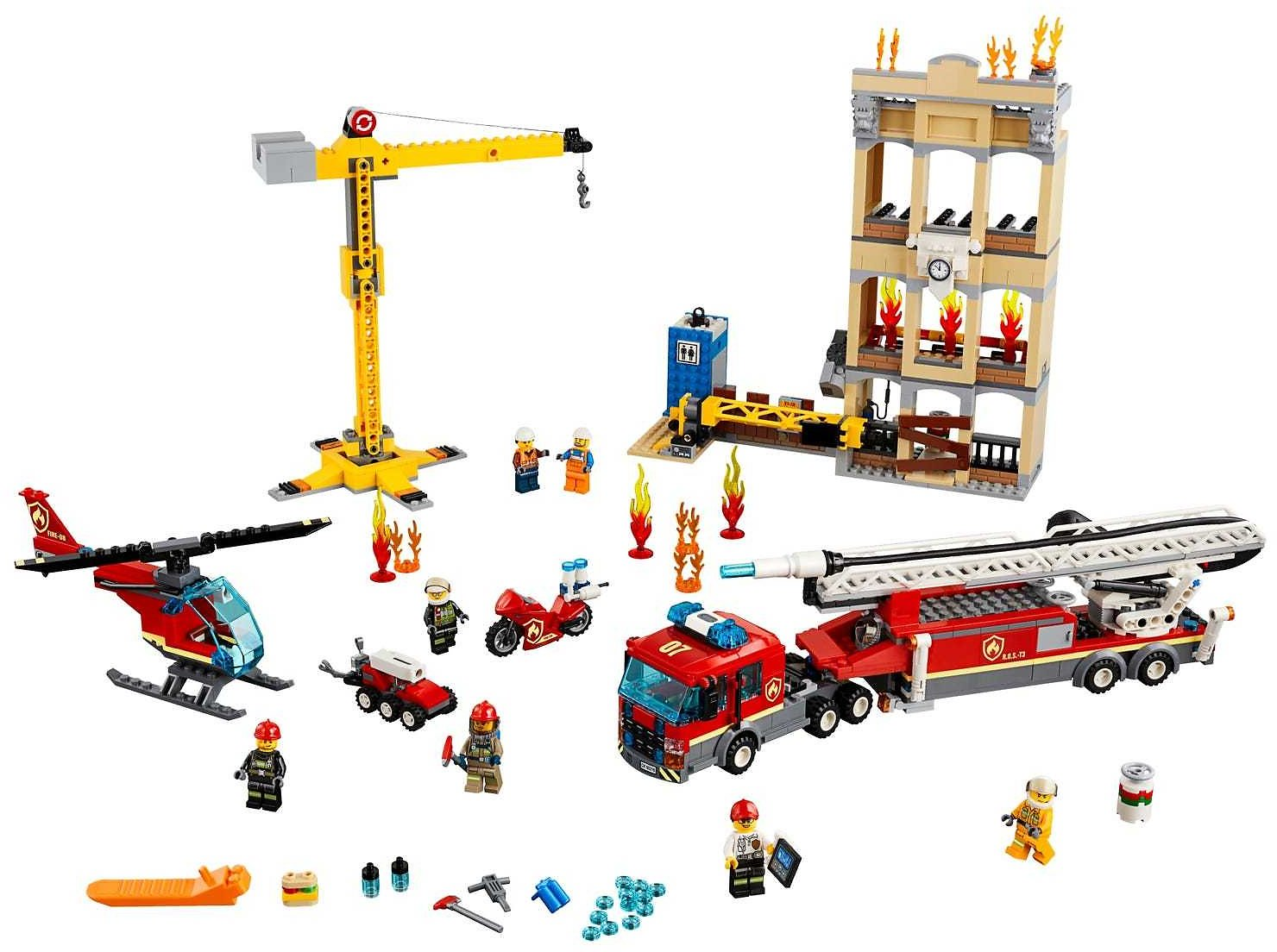 Downtown Fire Brigade 60216 | City | Buy Online At The Official LEGO® Shop US