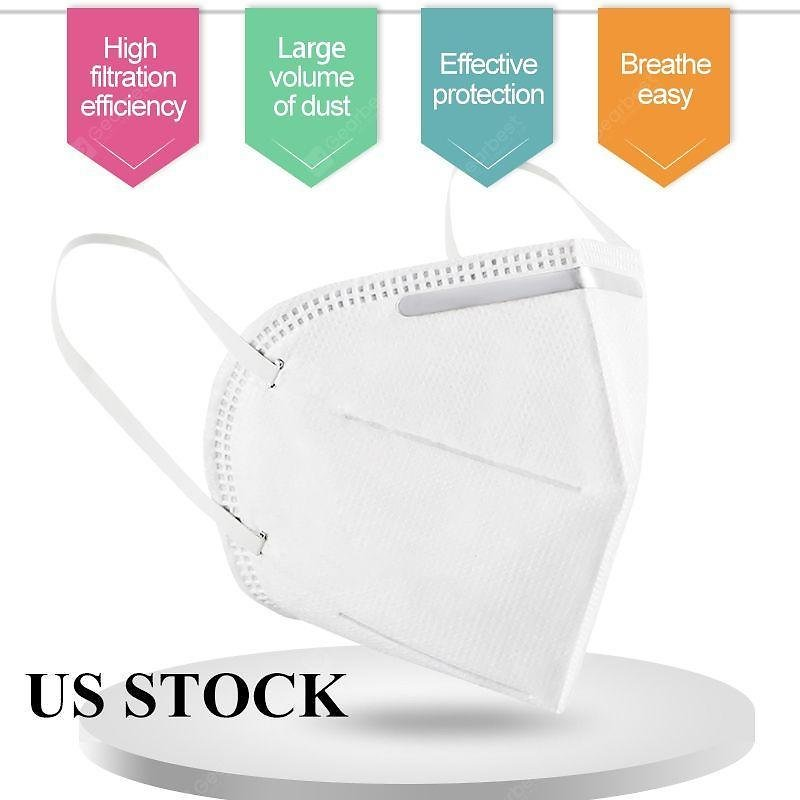 10PCS KN95 Dustproof Anti-fog And Breathable Face Masks Protective United States 66% OFF