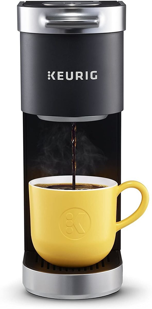 Keurig K-Mini Plus Coffee Maker, Comes With 6 to 12 Oz. Brew Size, K-Cup Pod Storage, and Travel Mug Friendly (4 Colors)