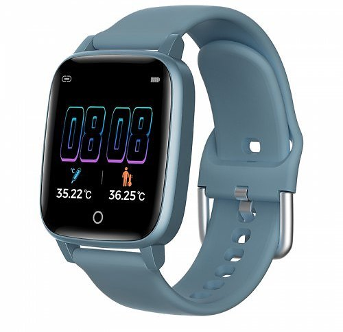 BDO Real-time Body Temperature Watch Heart Rate Monitor 7 Modes Sports Smartwatch with Temp Sensor