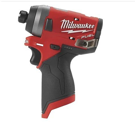 Milwaukee M12 FUEL Cordless 1/4in. Hex Impact Driver — Tool Only, Model# 2553-20