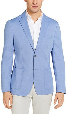 Calvin Klein Mens Slim-Fit Knit Sport Coat (3 Colors)