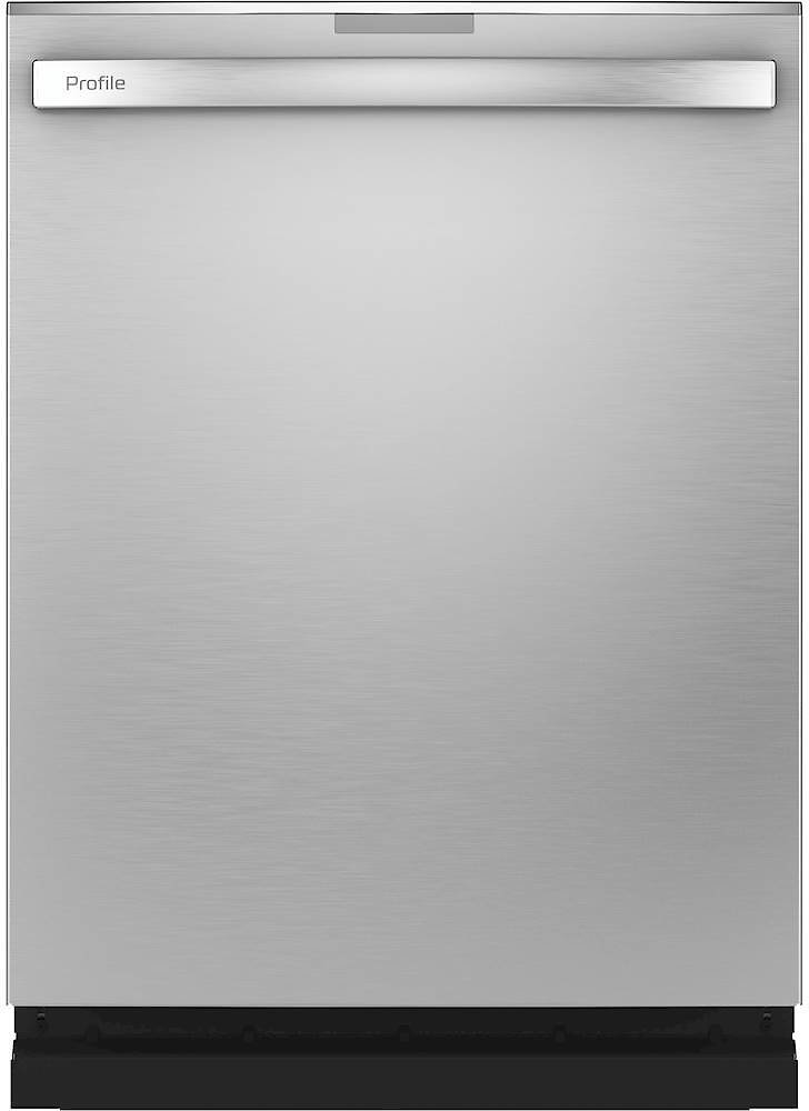 GE Profile Series Smart Stainless Steel Interior Fingerprint Resistant Dishwasher with Hidden Controls Stainless Steel PDT775SYNFS