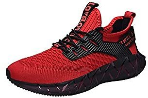 RUNMAXX Mens Fashion Sneakers Walking Shoes Jogging Athletic Mesh Breathable Comfortable Running Sport