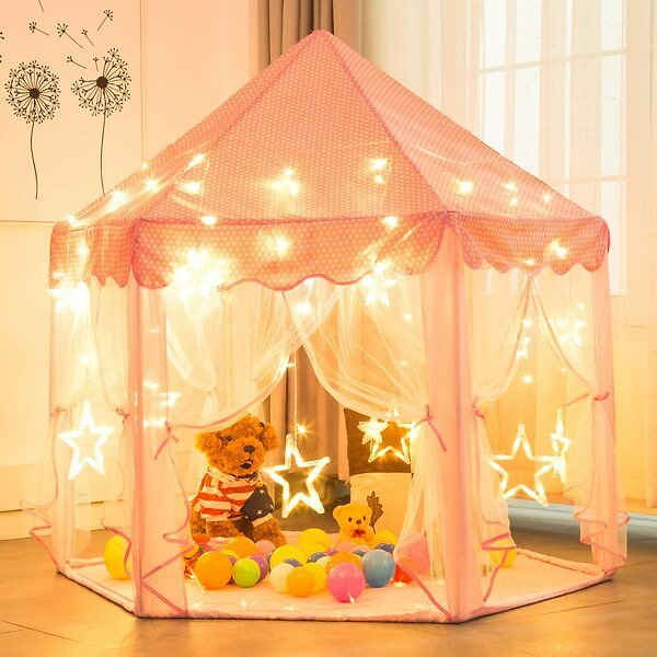 Princess Kids Castle Play Tent