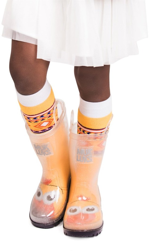 Muk Luks Girls Rain Boots & Socks 5-Pack JUST $21 + FREE Shipping (Ends Today)