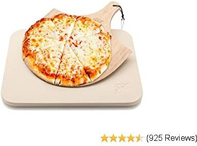 3-Pc Pizza Peel w/ Folding Wooden Handle