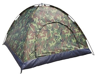 Camo Waterproof 3-4 Person Camping Tents Hiking Backpacking Shelters
