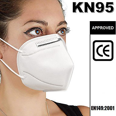 20 Pcs KN95 KN95 Masks Respirator Protection PM2.5 Protection In Stock Melt Blown Fabric Filter High Quality Unisex White / Filt