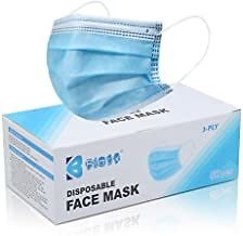All Disposable Face Mask 50Pcs Box Start from $12