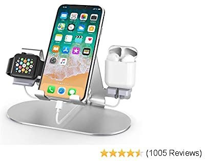 3 in 1 Aluminum Charging Station for Apple Watch