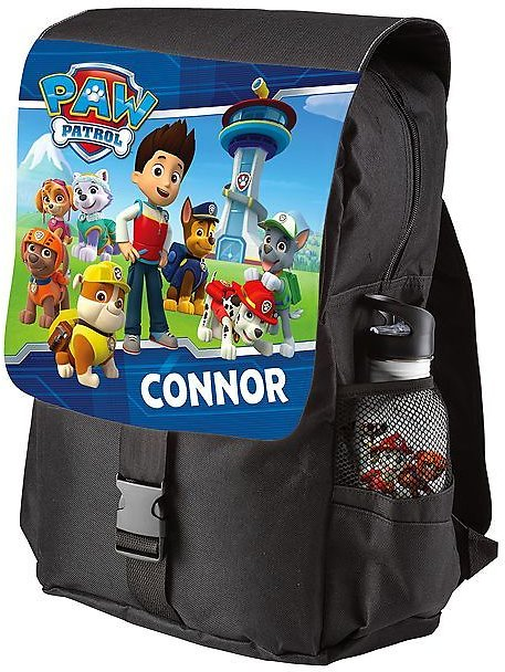 PAW Patrol Black Personalized Backpack