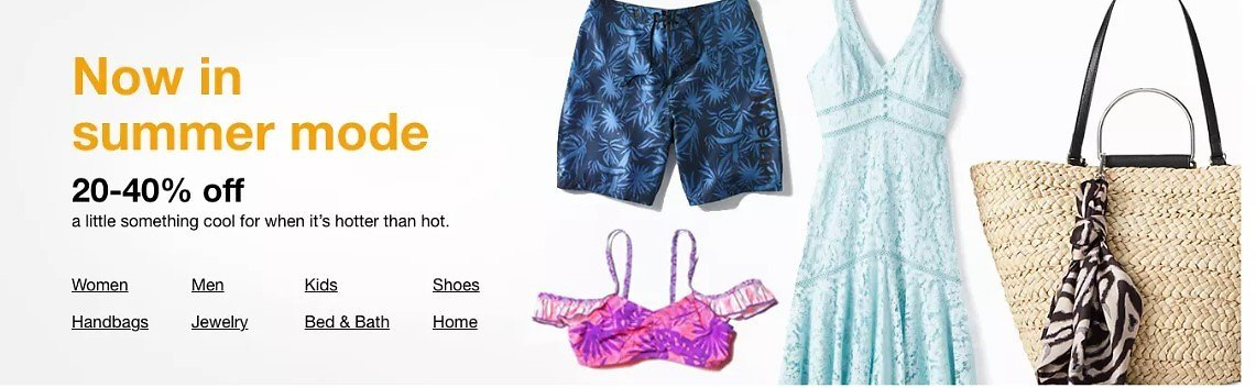 20-40% OFF Summer & Sunny Days Style: Summer Mode at Macy's