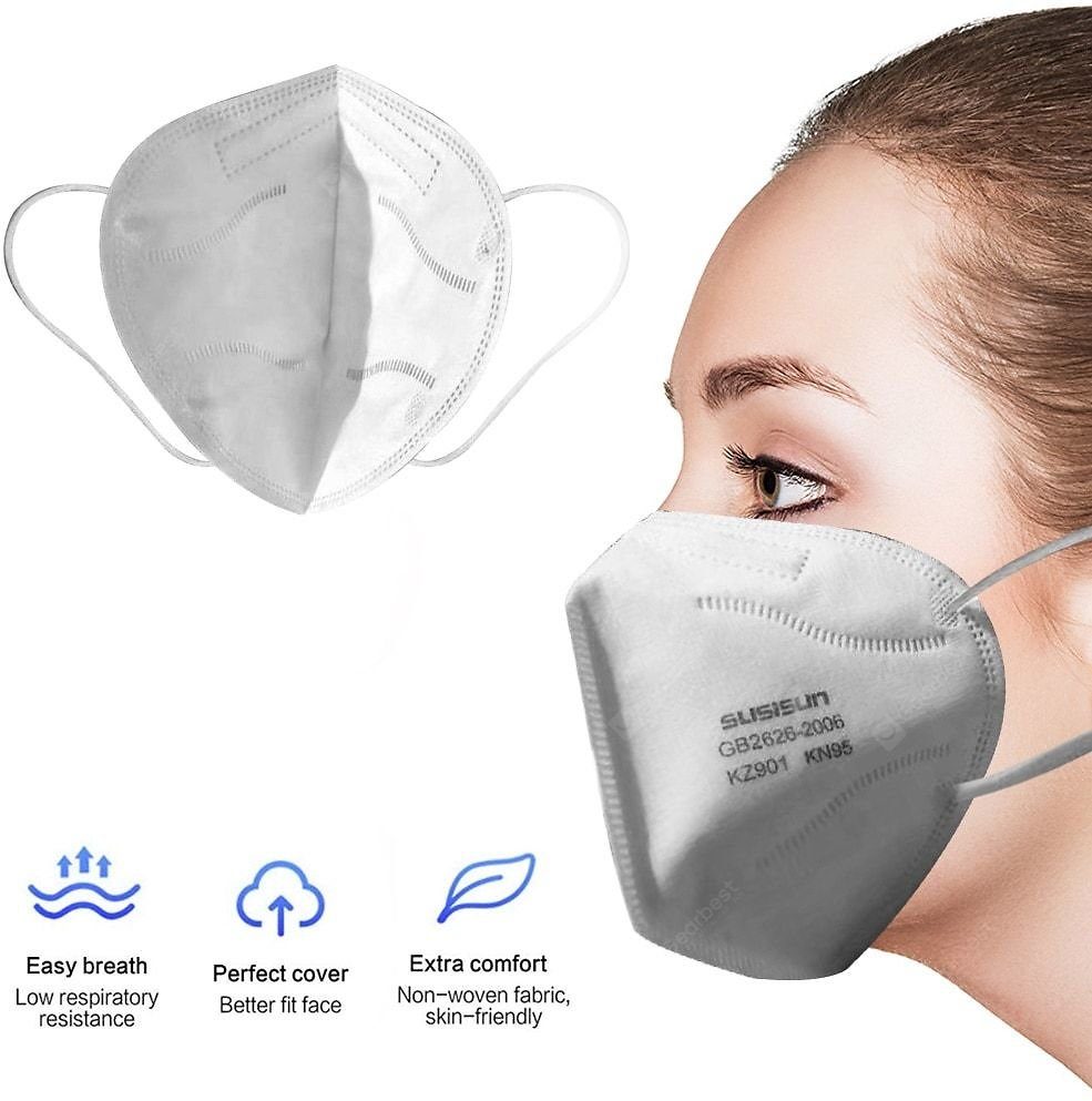 PM2.5 N95 Dust Mask Fine Air Filter Anti-odor Smoke Custom Cotton Dust Mask Sale, Price & Reviews | Gearbest